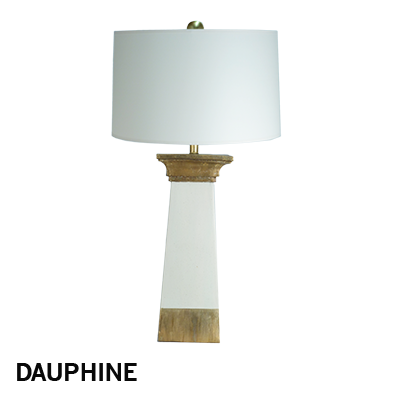 M. Clement - Dauphine lamp