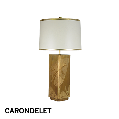 M. Clement - Carondelet Square lamp